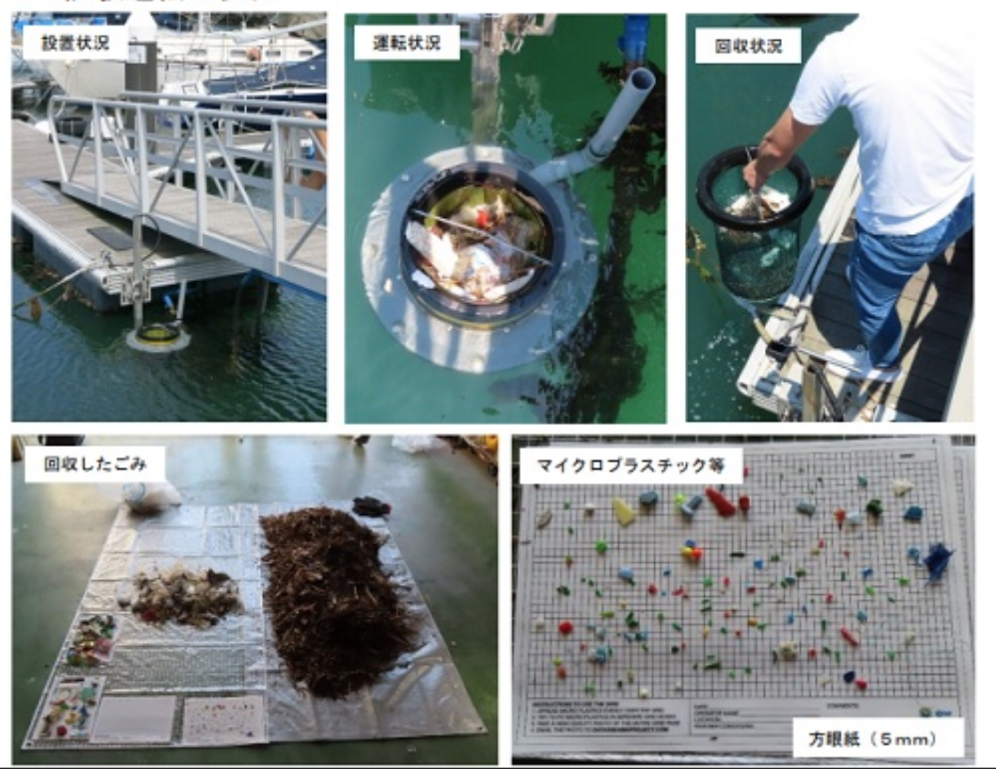 マイクロプラスチックの海洋分布